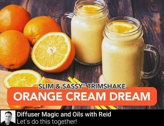 Yes there is a TrimShake for every craving desire and flavor and this orange creamsicle flavored shake is one youll want to save for later!  Place the following into your blender: -4 Oz. Water -6 Oz. Orange Juice -5-8 Ice Cubes - Cup Vanilla Greek Yogurt