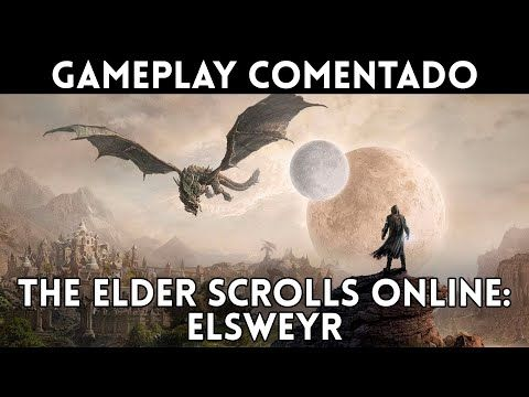 GAMEPLAY español THE ELDER SCROLLS ONLINE: ELSWEYR (PC, Xbox