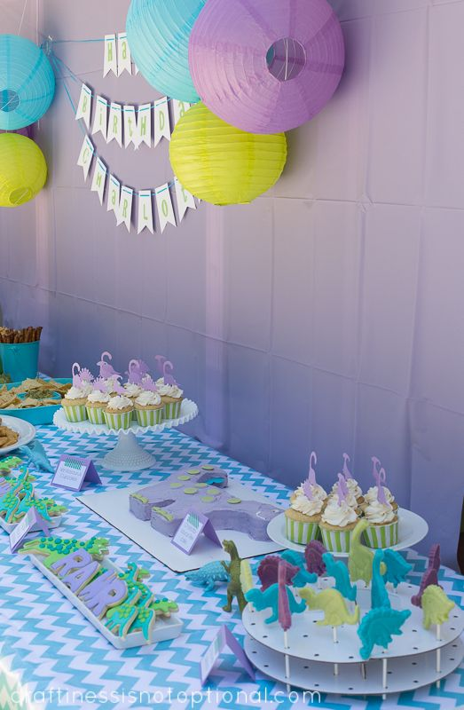 craftiness is not optional: charlotte's dinosaur birthday party