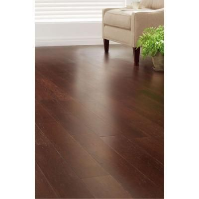 Home Decorators Collection Strand Woven Dark Mahogany 3 8
