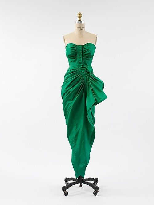 Dress  Cristobal Balenciaga, 1946  The Metropolitan Museum of Art