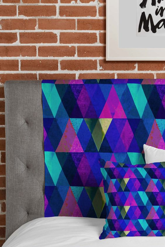 Hadley Hutton Triangular Diamonds 2 Tapestry | DENY Designs Home Accessories  #denywishlist