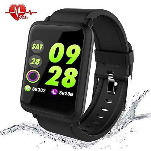 Smartwatch Wasserdicht Ip67 Smart Watches Mit Pulsmesser Fitness Tracker Sport Watch Fitness Uhr Mit Blutdruckmessung Schl Smartwatch Wearables Fitness Armband