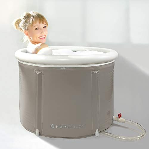 Portable Bathtub By Homefilos Japanese Soaking Bath Tub For