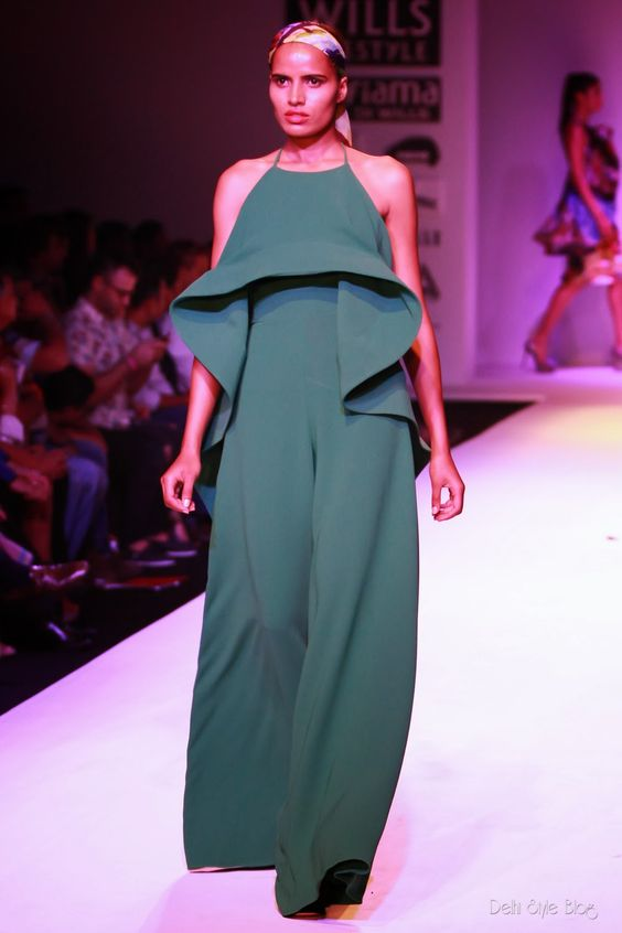 Delhi Style Blog: Gauri and Nainika Spring Summer 2014 WIFW SS14