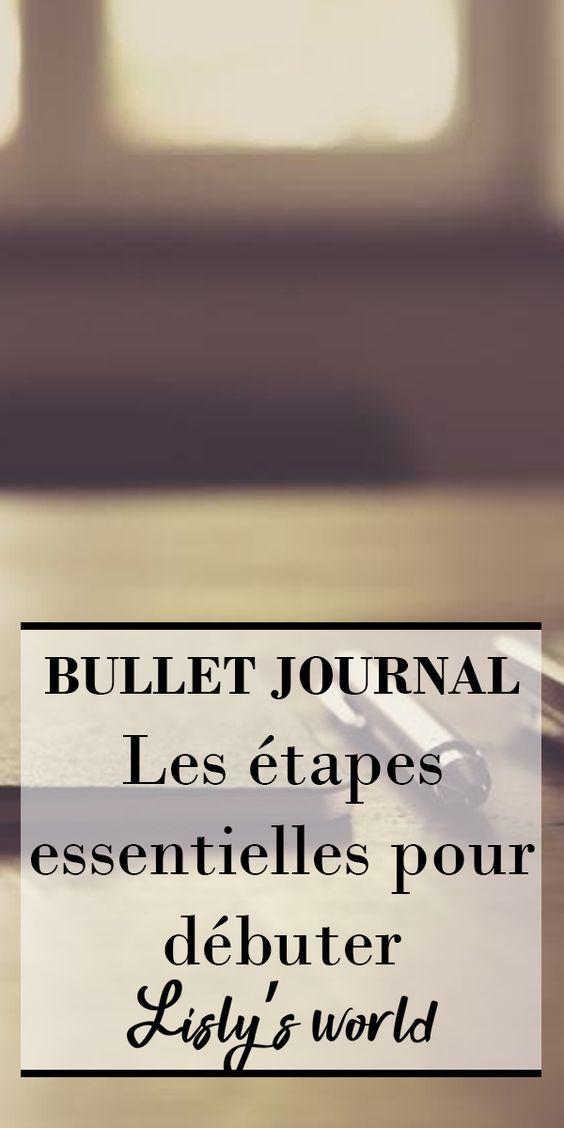 Les étapes essentielles pour débuter son Bullet Journal
