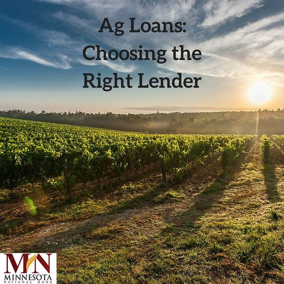 We understand the importance of a farm-lender relationship. Read about how we can help you with your agricultural loans: http://bit.ly/1gLgnwo