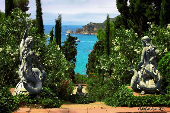 Santa Clotilde Gardens, Lloret de Mar, Costa Brava, Catalonia, Spain ✯ ωнιмѕу ѕαη∂у