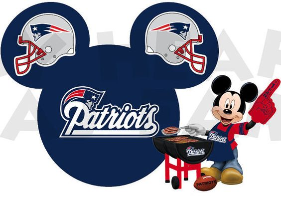 Image result for mickey mouse new england patriots