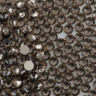 144 Swarovski Xilion Rose Flat Back SS7 2058 Greige (284)