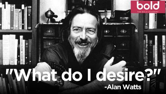 ¿Y SI EL DINERO NO FUERA TU PROPOSITO? por Alan Watts