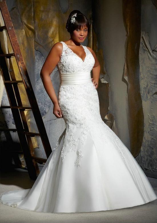 vestido de noiva para gordinhas sereia