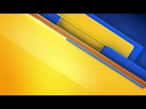 خلفية مونتاج أصفر وأزرق Hd Youtube Science And Technology