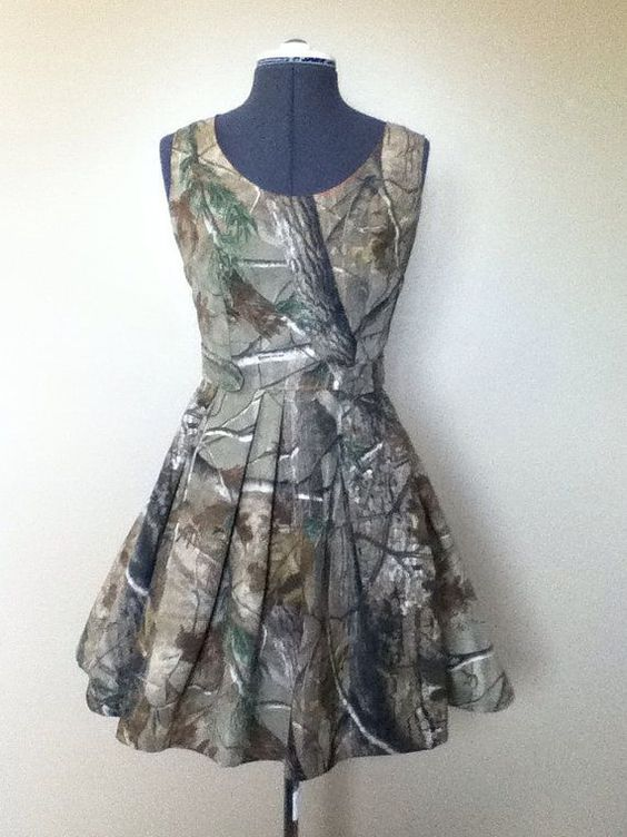 I am obsessed with this real tree camo dress! SOOOO adorable!