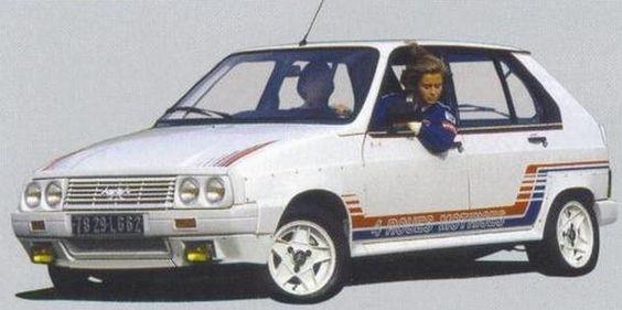 Citroen visa mille pistes my dreamcar garage pinterest for Garage citroen 42 cours de vincennes