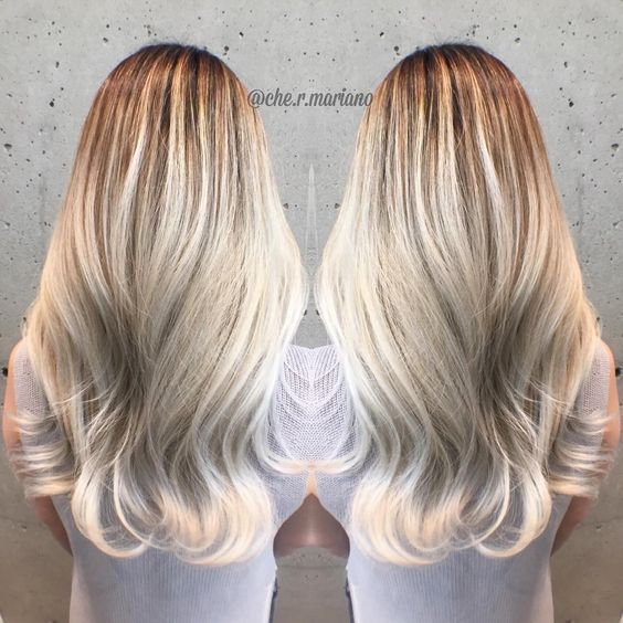 """""""White blondes  .stay tuned for the before and after!  #vancity #vancouver #behindthechair #hotonbeauty #hrvahairartistry #hairofinstagram #photooftheday…"""""""