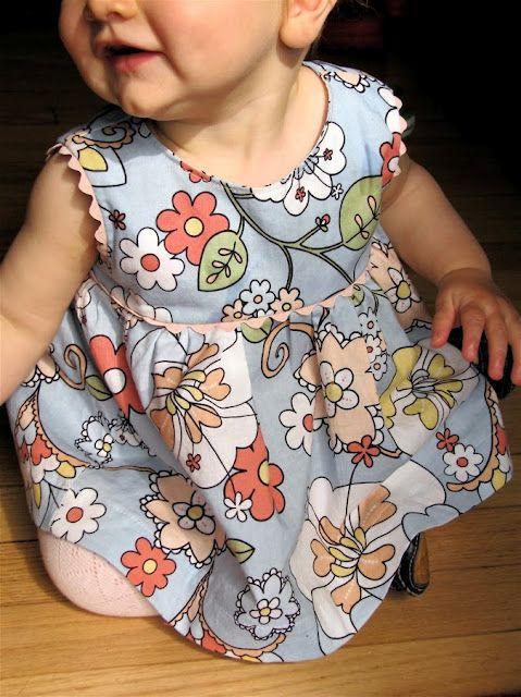 Ric Rac Baby Dress