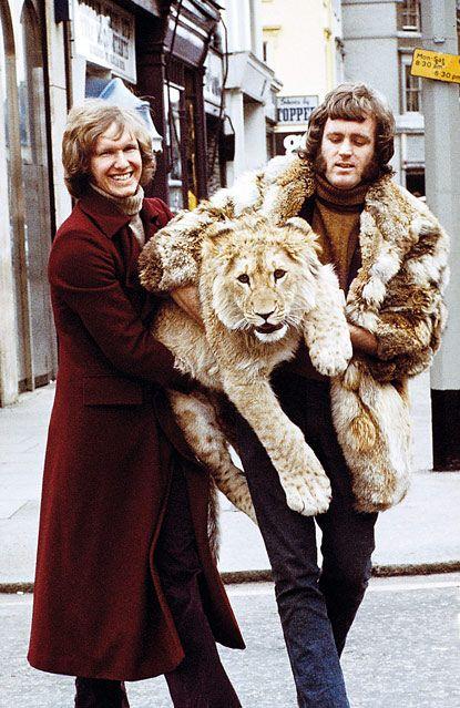 Lion problems: being kidnapped by a guy who's wearing your mom.