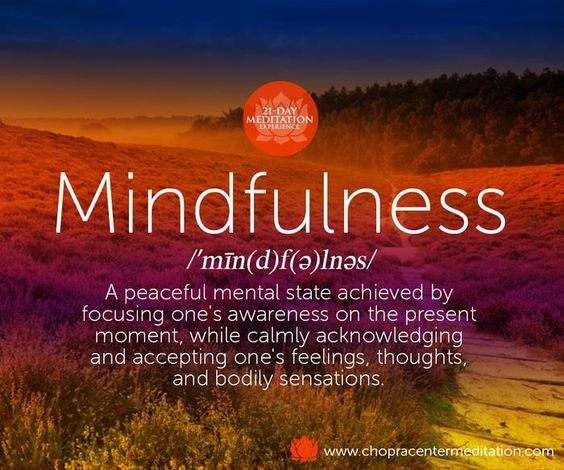 There are countless ways to cultivate mindfulness: meditation, yoga, gratitude, the list goes on…  What is your favorite way to cultivate mindfulness?