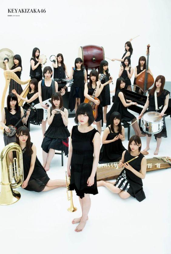 欅坂46の集合写真15