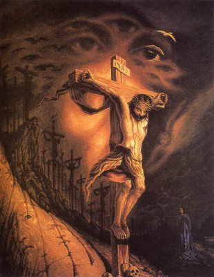 Octavio Ocampo I really, really miss my picture of Jesus.......lost it in Katrina. Will get another one day!