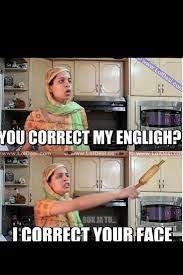 Correct my english