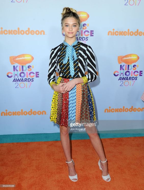 Actor Lizzy Greene at Nickelodeon's 2017 Kids' Choice Awards at USC Galen Center on March 11, 2017 in Los Angeles, California.