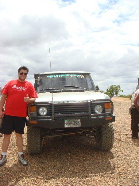 Ranggie at Aguaro Guariquito national park in Venezuela