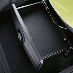 Schublade für Fahrersitz