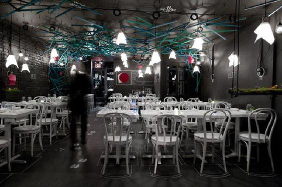 Les 20 intérieurs de restaurants les plus incroyables du monde | J'en reviens pas!