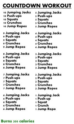 Could do after 20 minute treadmill interval run. I want to try it also by changing it up with burpees and full sit-ups and do on its own for interval workout, would time it.