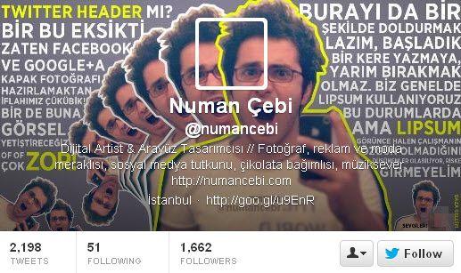 Twitter Header - Numan Cebi