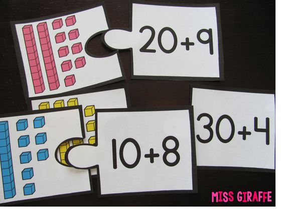 Place Value expanded form puzzles and more fun ideas | Math ...