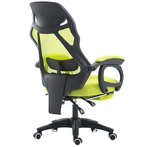 Racing Game Chair Executive Office Computer Rotating High Back Armrest Ergonomic Mesh Chair Head Lumbar Support And Footre Office Chair Chair Ergonomic Chair