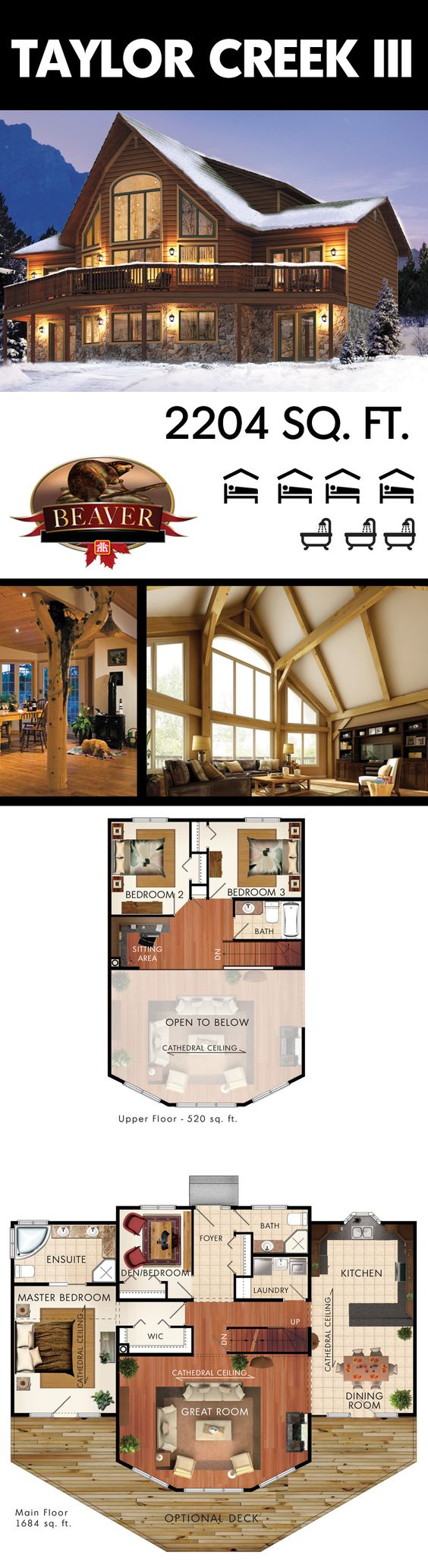 Cathedral ceilings rustic homes and cathedrals on pinterest for Cathedral ceiling house plans