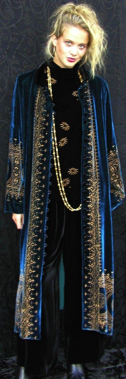 MaryJane Long Marco Jacket - Velvet - Origins of Santa Fe