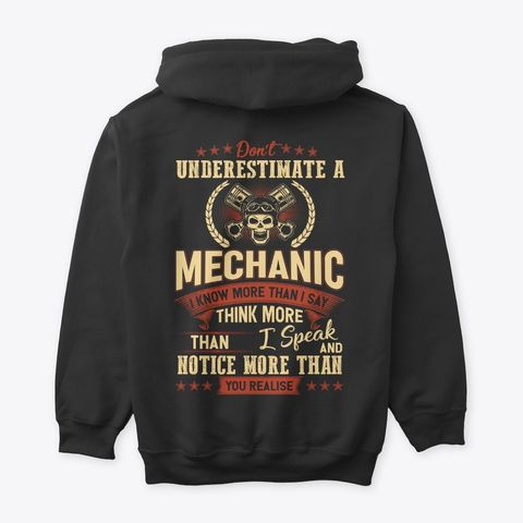 I May Be A Mechanic But I Cant Fix Stupidity Funny Joke Diesel Profession HOODIE