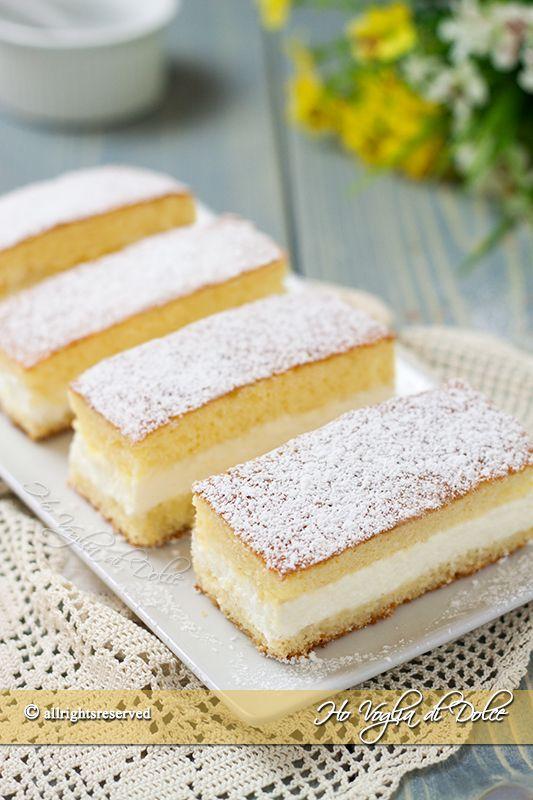 Merendine kinder paradiso ricetta solo ricette for Ricette dessert