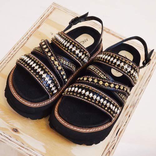 Sandalias Indias Verano 2017 - Tendencias en Zapatos por Anca & Co: