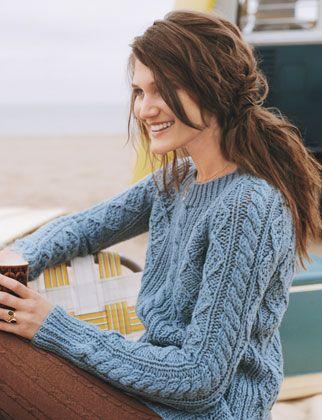 oooh cozy-lookin sweater