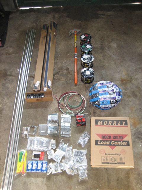Garage Subpanel Installation - Emt - Electrical