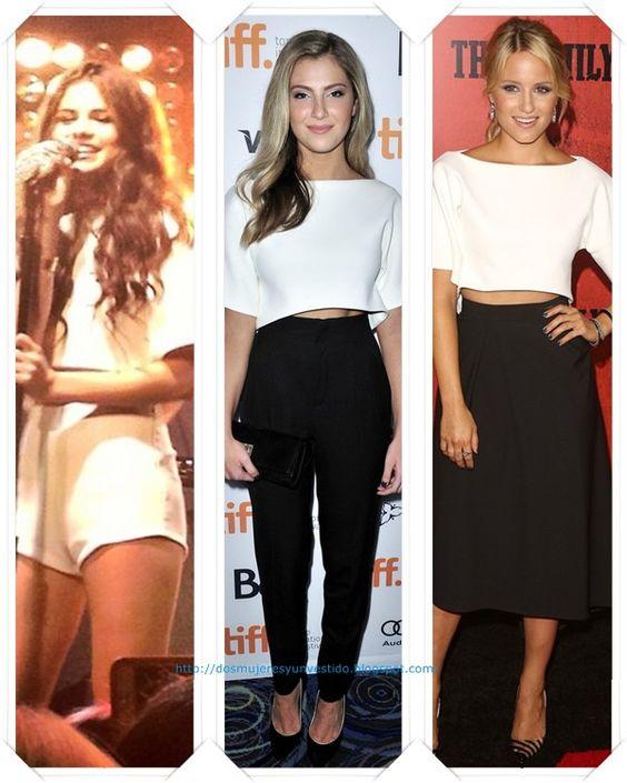 Una camiseta de Osman resort 2014 se la hemos visto a: Selena Gomez; Zoe Levin; Dianna Agron.