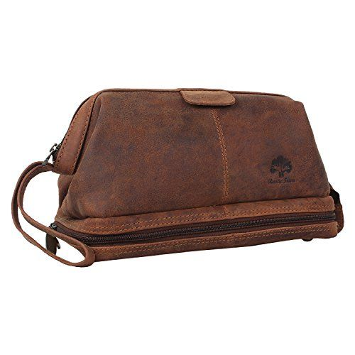 Leather Toiletry Bag Men Women Medium Travel Bathroom Makeup Travel Kit Organizer     Read. Leather Toiletry Bag Men Women Medium Travel Bathroom Makeup