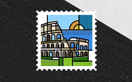 Nice Collection of Stamps From All Around the World
