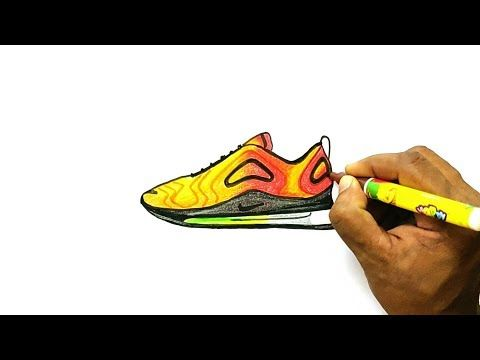 How to Draw Nike Air Max 720 | Dessin