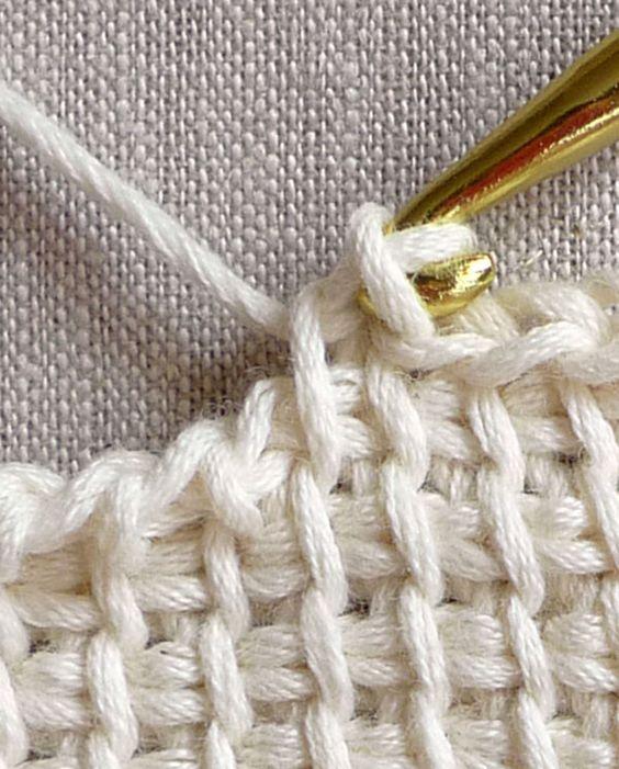 Basic Knitting Tutorial Pdf : Tunisian crochet basics tutorials knitting