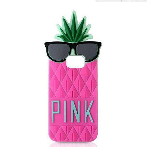 Jicheng Electronic Samsung Galaxy S6 Pineapple Case,3D Cute Victoria's Secret PINK big letters Glasses Fruit Pineapple Silicone Case for Samsung Galaxy S6 Rose Jicheng Electronic http://www.amazon.com/dp/B019DP8MYI/ref=cm_sw_r_pi_dp_yrkZwb0A16HR6