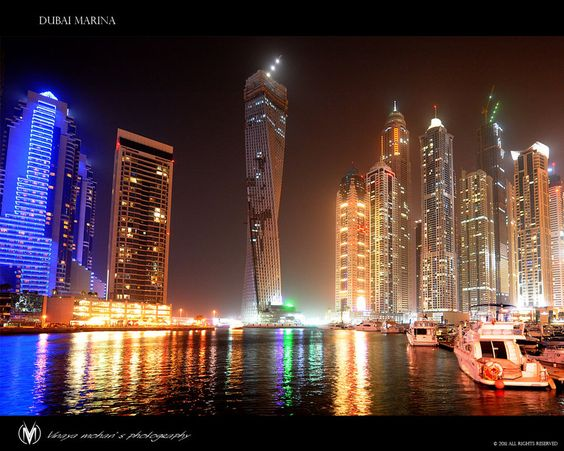 Dubai marina  by ~vinayan