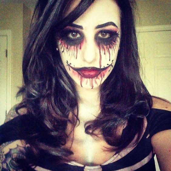 Black Dahlia Face Paint