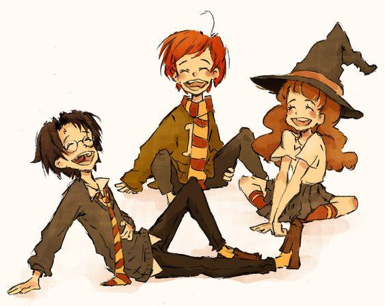 Young wizards by MadLibbs.deviantart.com on @DeviantArt